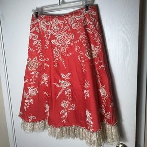 One of a kind pearl skirt
